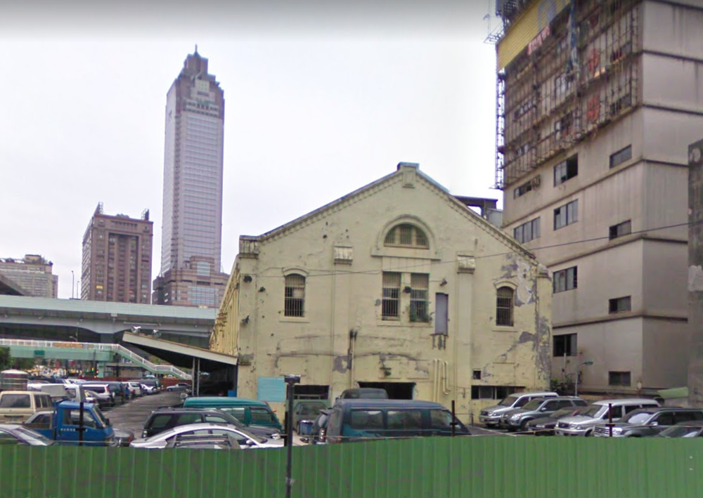Prior to demolition in about 2009