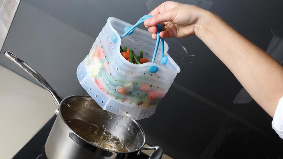 """Vebo - """"vegetable boil steam strain"""" $34.95"""