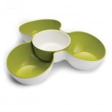 "Triple Dish - ""Multi-bowl snack dish"" $46.95"