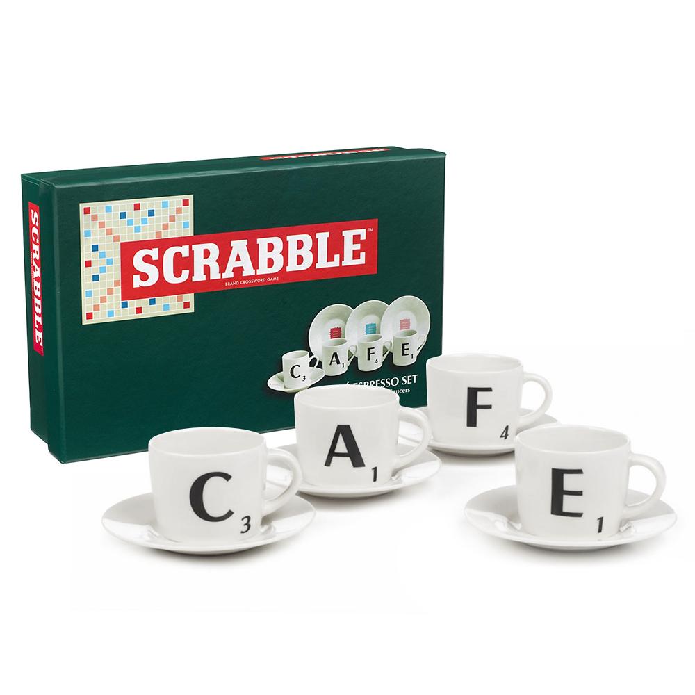 Scrabble Espresso Set $59.95