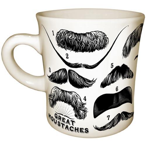 Moustache Mug $22.95