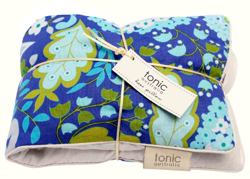 Aqua Lantana Heat Pillow $34.95