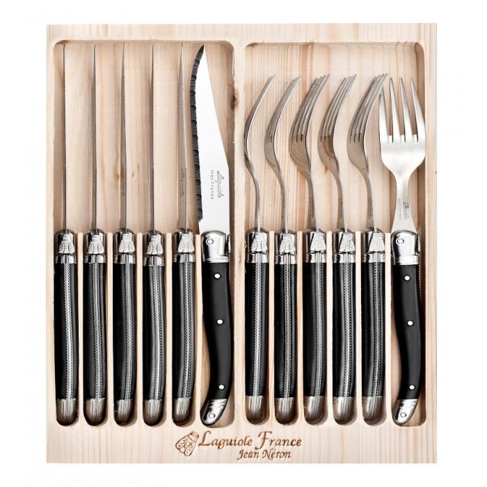 12 Piece Cutlery Set Black $139.95