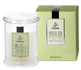 Tea Ceremony Green Tea and Citrus Candle $24.95