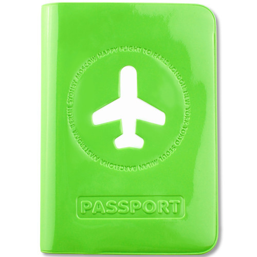 HF Passport Cover Green $19.95