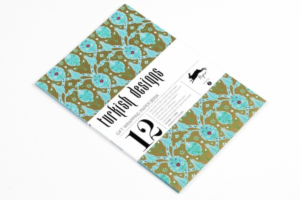 Wrapping Paper Book - Turkish Designs $22.95