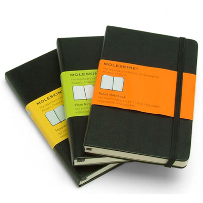Moleskin Note Books from $22.95