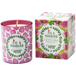 Fig and Rhubarb Votive Candle $19.95 and Candle $39.95