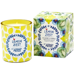 Lemon Zest Votive Candle $19.95  Lemon Zest Candle $39.95