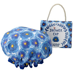 Blue Antwerp Shower Cap $24.95