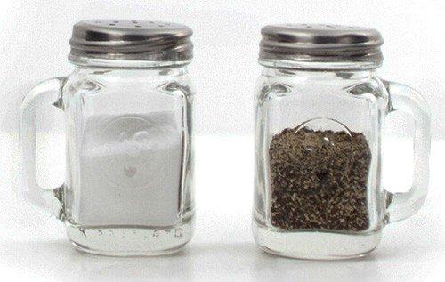 Mason Jar Salt and Pepper Shakers $21.95