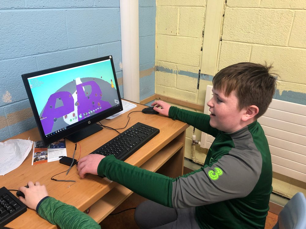 Another student at our Coolmine Easter Camp, 2019