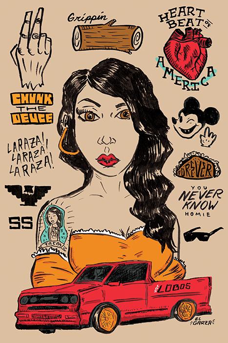 lowridergirl_poster_pinup_truck_illustration_jongarza.jpg