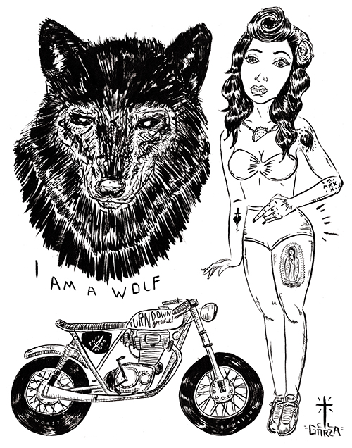 motorcycle_pin up_illustration_poster_jongarza.jpg
