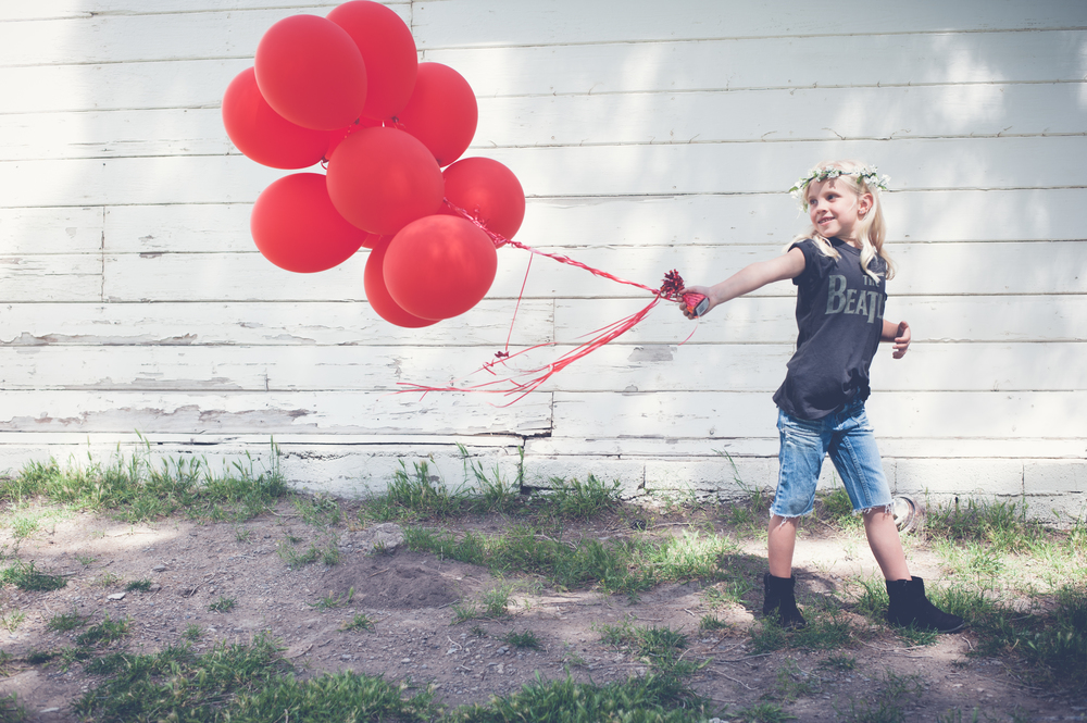 RED BALLOONS FOR RYAN