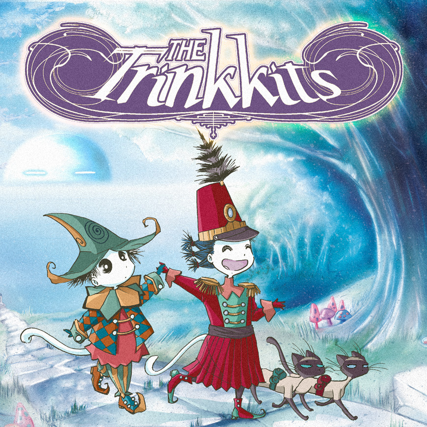 The Trinkkits by Rikki and Tavi — Updated in a  Higgledy Piggledy  Way Five Pages at a Time