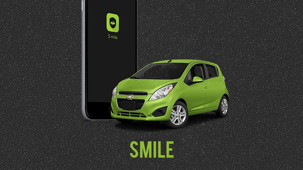 Smile, UX Design for Chevrolet    2014