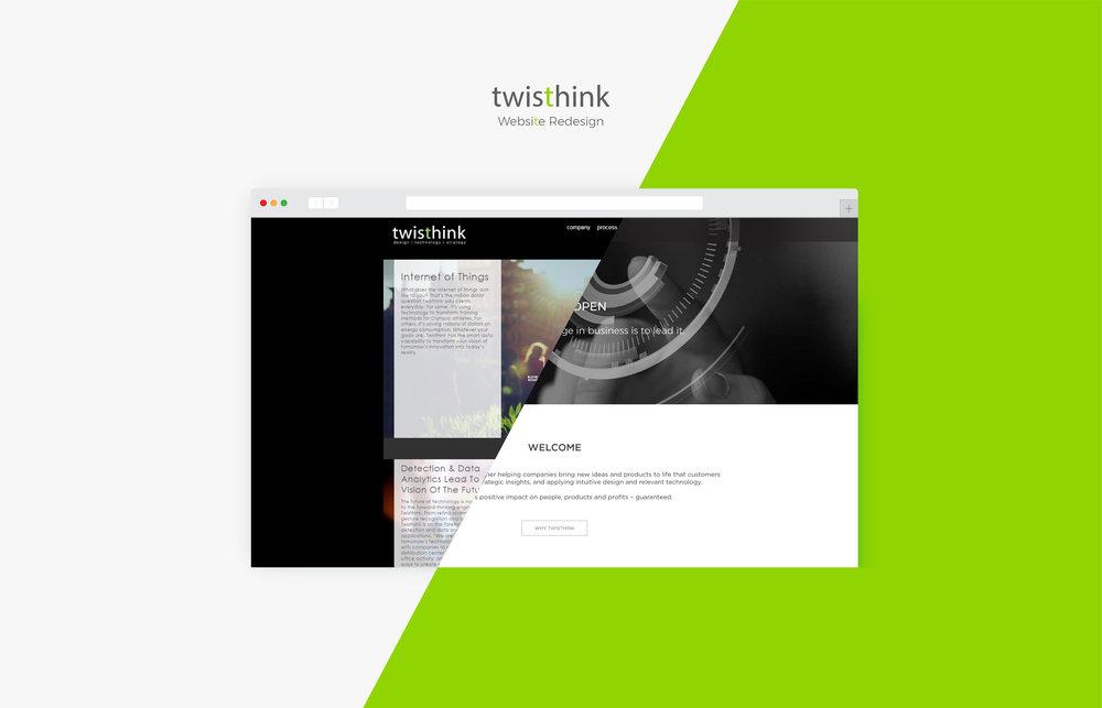 Twisthink website redesign  2017