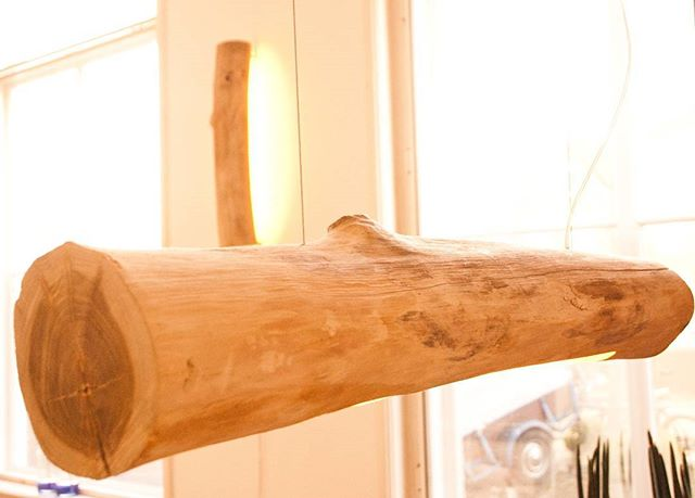 BOOM#1 en BOOM#2: Boom#lamp#design#nature#teak#LED