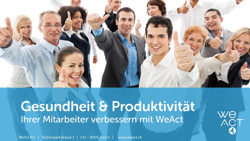 Pr�sentation Gesundheit Produktivit�t