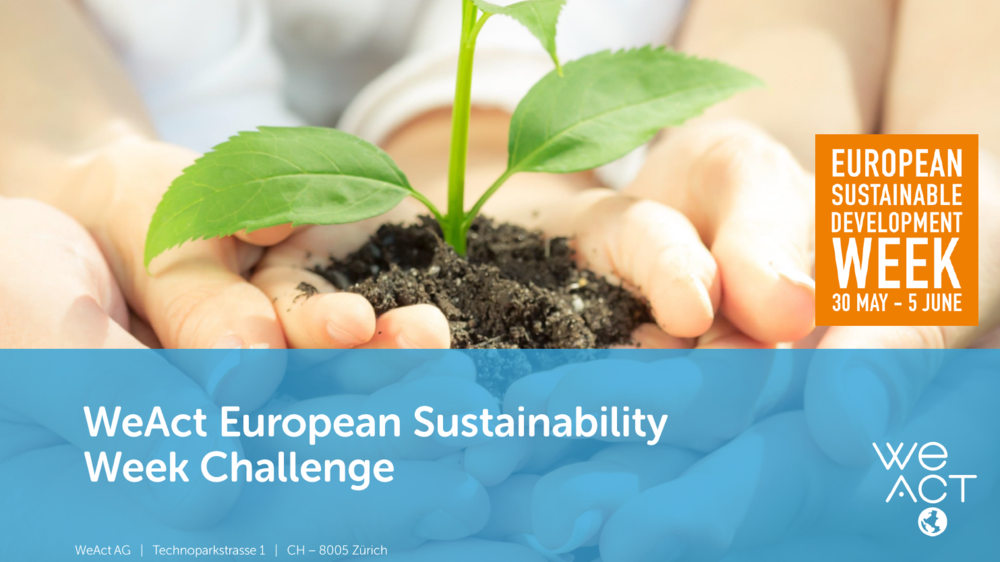 Sustainability week 2015