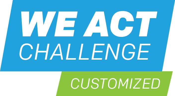 we act challenge customized