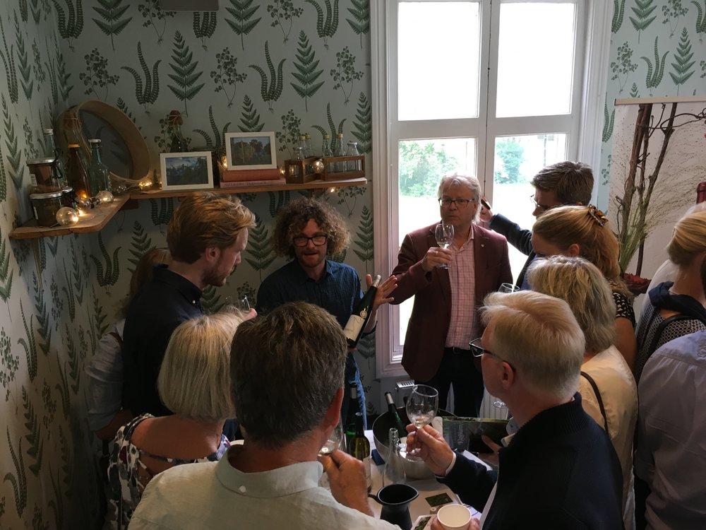 Svenskt vinevent i Alluden i Lerum