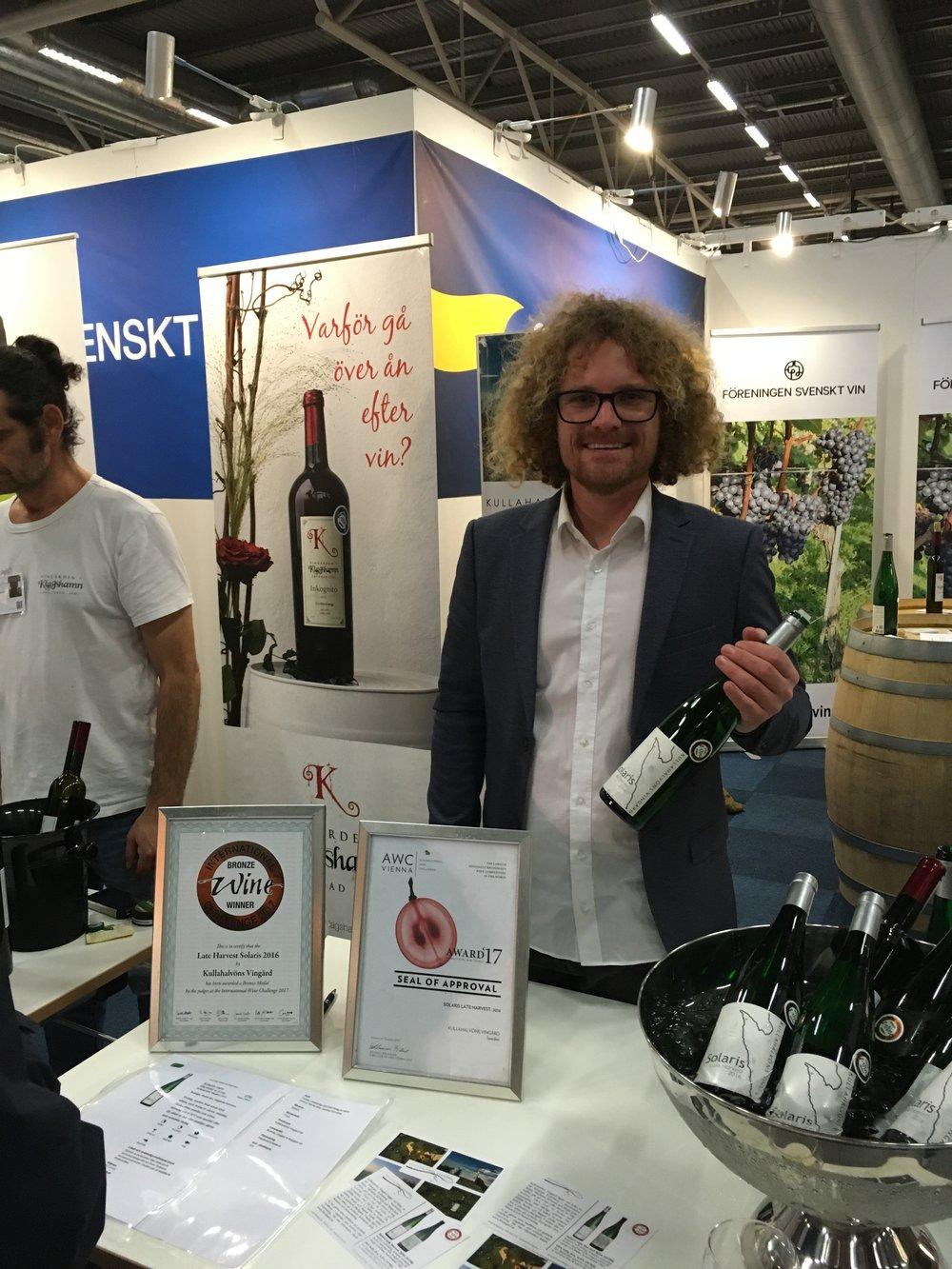 Svenskt vin gör succé på Sthlm Wine & Food
