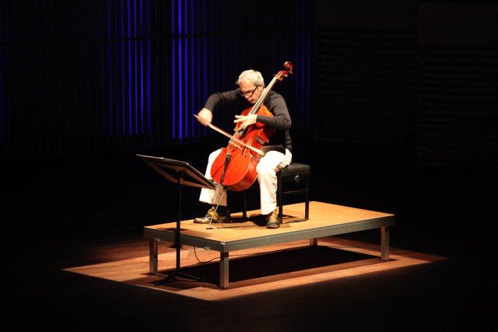 Arne Deforce at Muziekgebouw Amsterdam