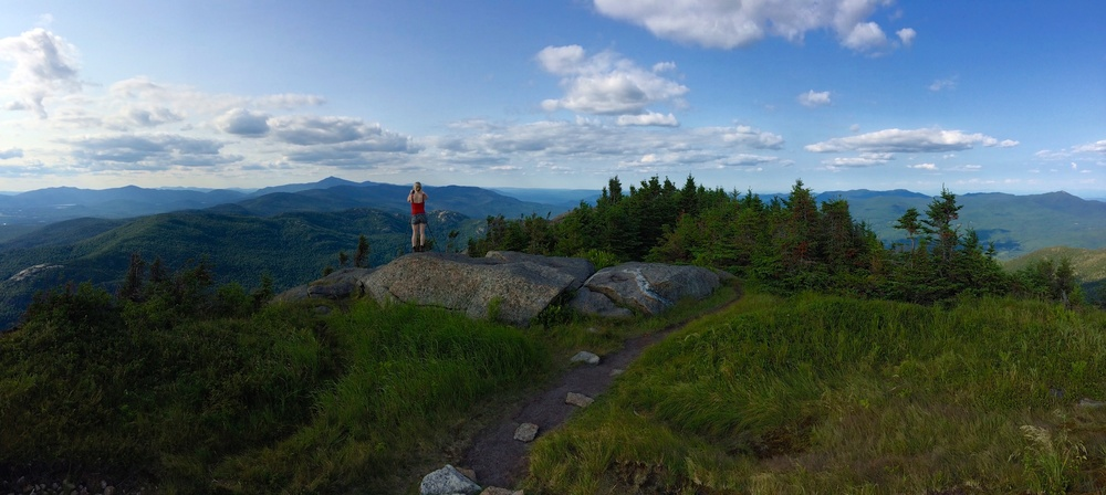 Photographing on Top of Cascade Mountain