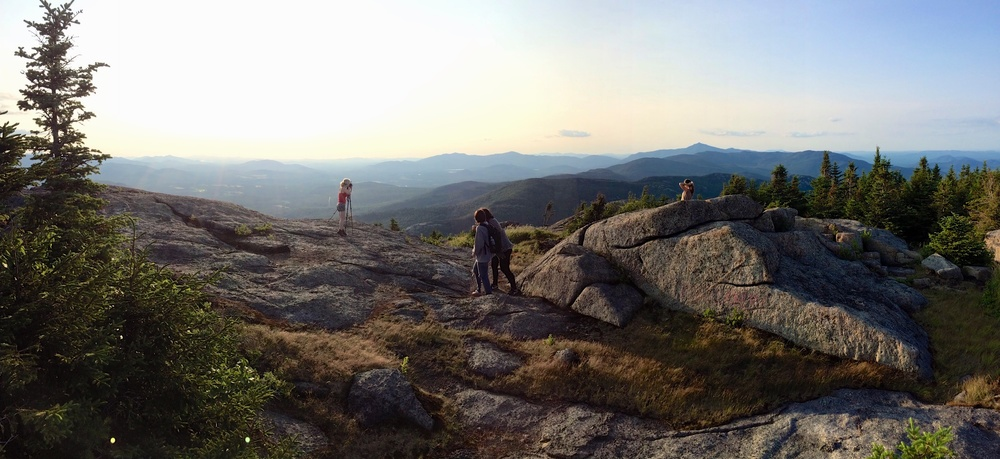 Sunset on Top of Cascade Mountain