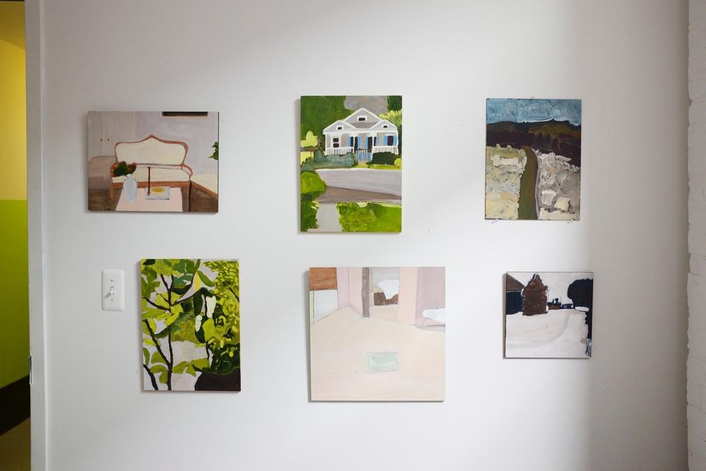 Negin Dastgheib Bushwick NY Paintings