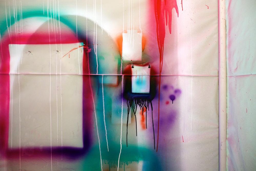 Chris Willcox Spray Booth
