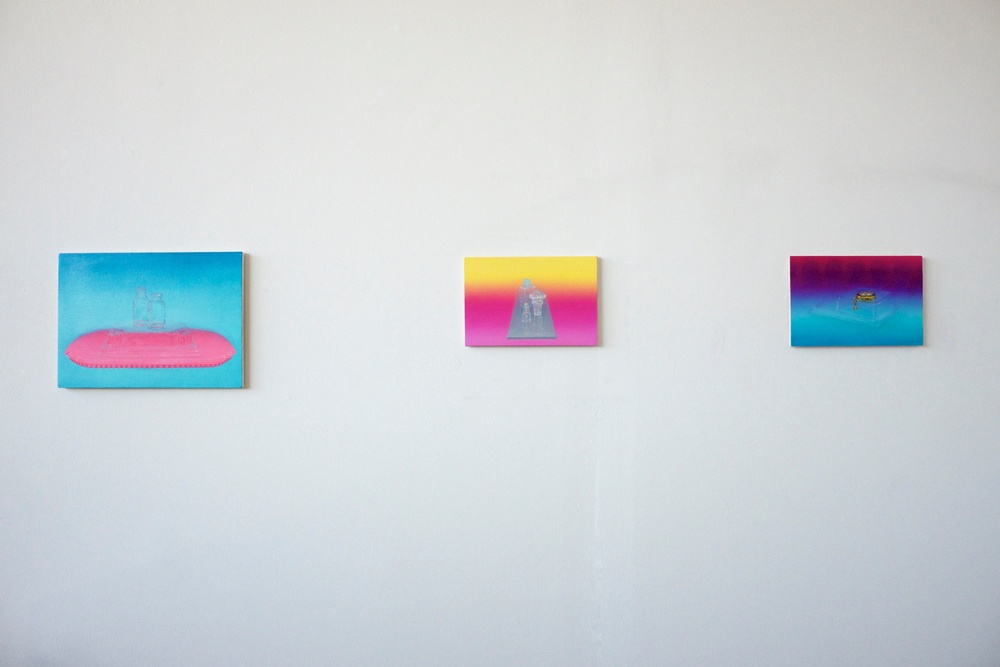 Miniature Paintings in Studio