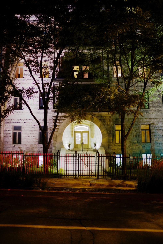 Round Doorway Montreal Apartment