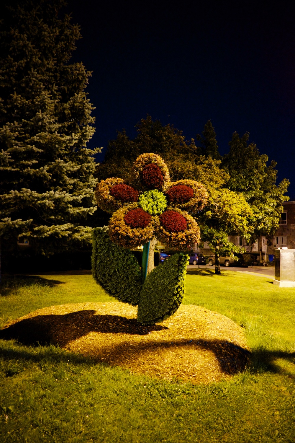 Lasalle Flower Sculptures Montreal