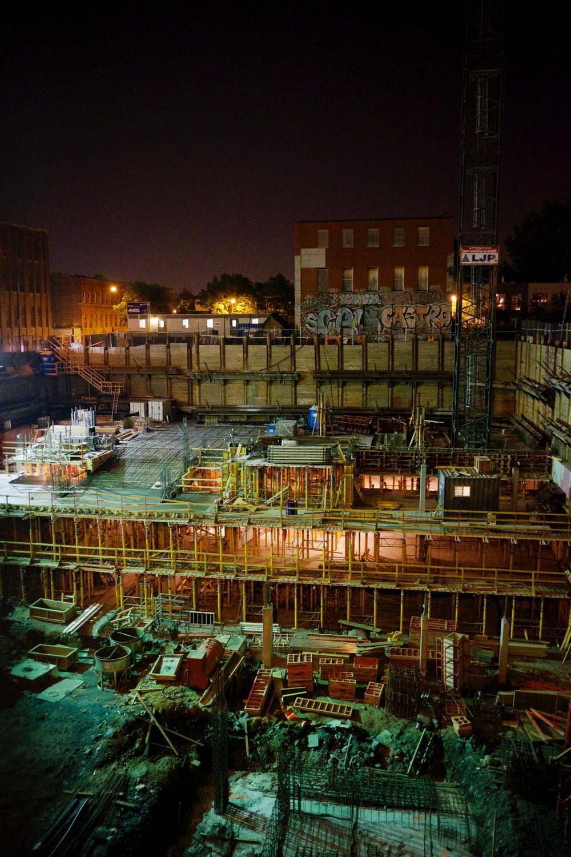 Concordia University Construction Site