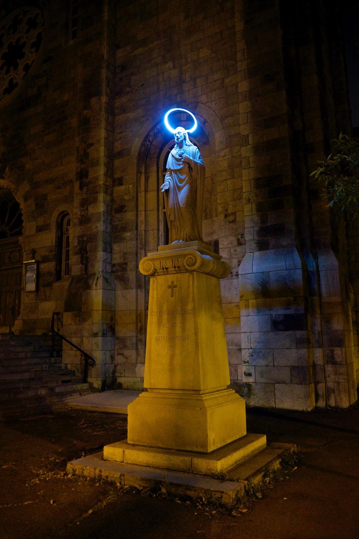 Jesus Halo Sculpture Montreal