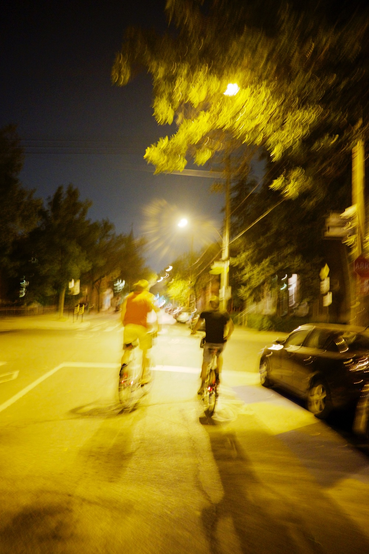 Racing Bixi Bikes Montreal