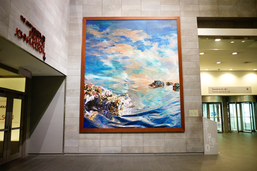 Holly King, Seascape and the Sublime. This was my favorite artwork to look at when I went to Concordia. It makes a lot more sense to me now, I shoot so many landscapes now that I've graduated.