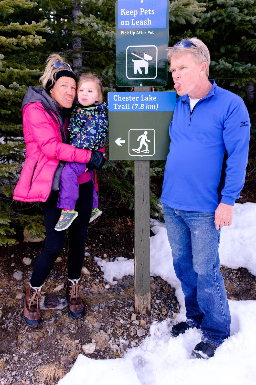 Chester Lake Trail Head - Peter Lougheed Provincial Park, Alberta