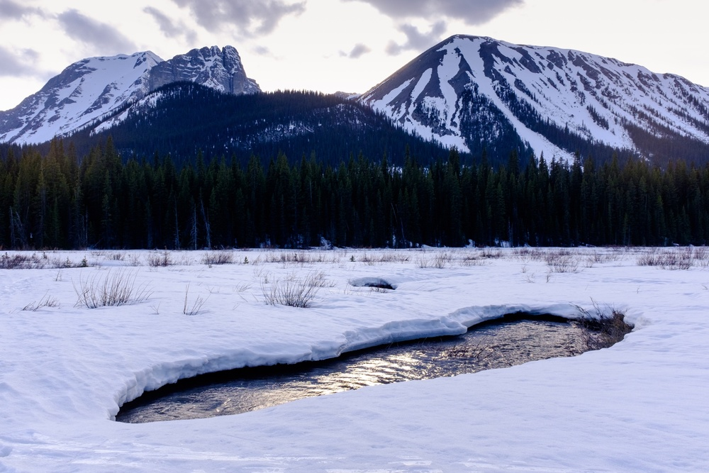 Rockies Sunset - Peter Lougheed Provincial Park, Alberta