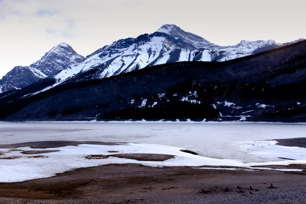 Blue Dusk Rockies - Peter Lougheed Provincial Park, Alberta