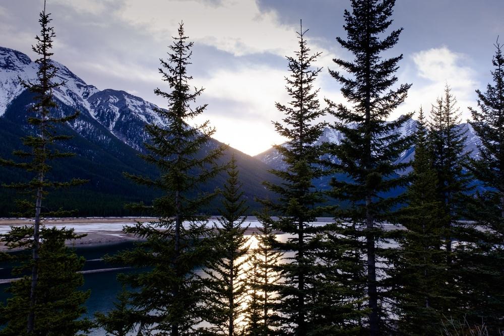 Sunset Dusk - Peter Lougheed Provincial Park, Alberta