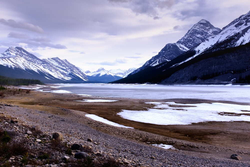 Mountain Landscape Scenic - Peter Lougheed Provincial Park, Alberta