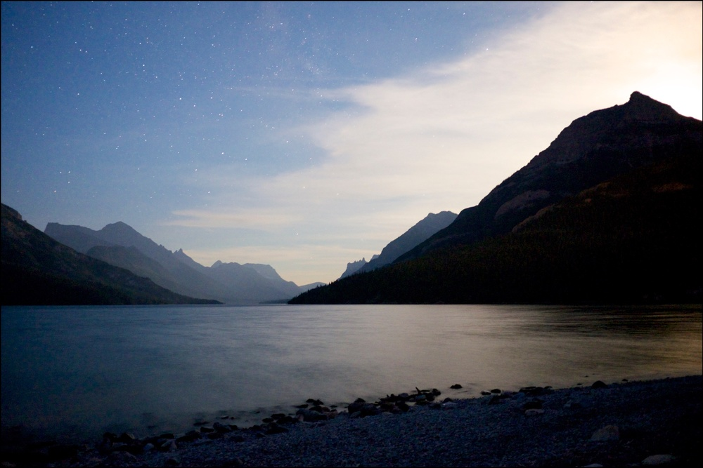 Waterton Lakes National Park Night Photography