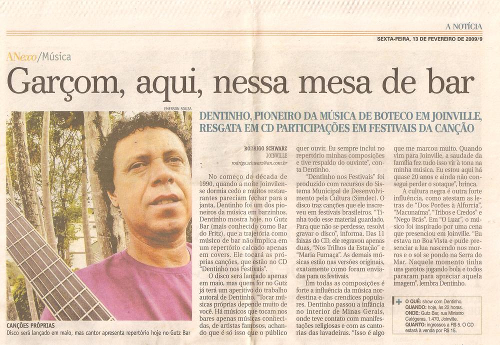 A Notícia - fevereiro 2009