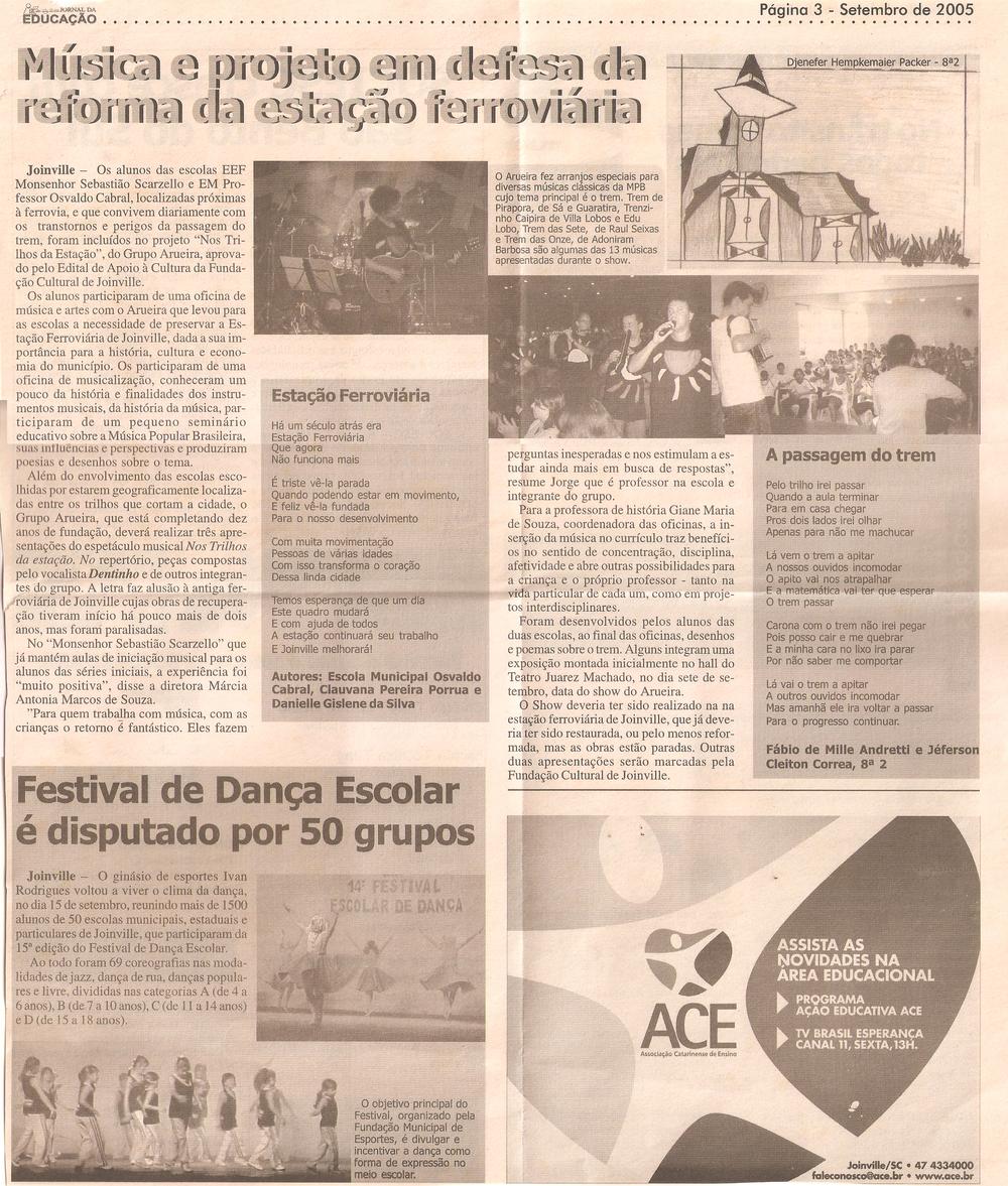 Jornal da Educação - setembro 2005