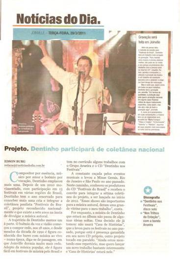 Notícias do Dia - Plural - março 2011