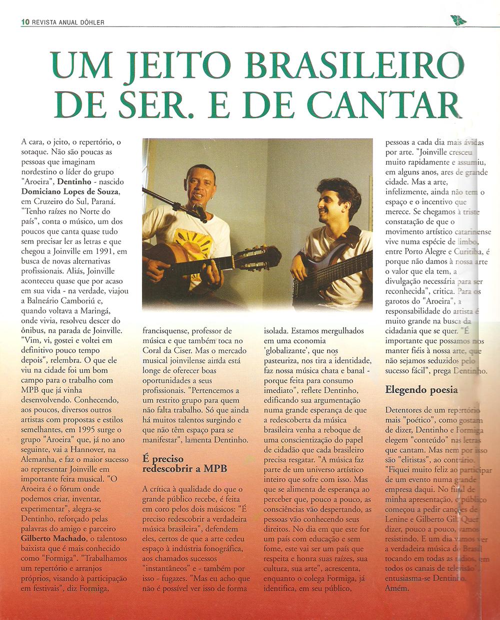 Revista anual Dohler - 2002
